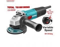 (100mm) Máy mài góc cầm tay chỉnh tốc độ 850W TOTAL TG108100365