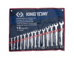 10-32mm bộ vòng miệng 14 cái hệ mét Kingtony 1214MR01