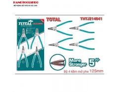 125mm Bộ kìm mở phe 4 chi tiết Total THTJ214041