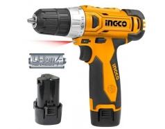 12V Máy khoan và vặn vít dùng pin Ingco CDLI228120-2