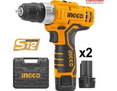 12V Máy khoan vặn vít dùng pin Ingco CDLI1232