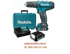 12V Máy khoan vặn vít dùng pin Makita DF331DSAE