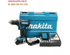 18V Máy khoan búa vặn vít dùng pin Makita DHP482RAE
