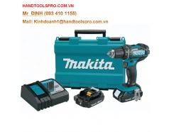 18V Máy khoan và vặn vít dùng pin Makita DDF482RAE