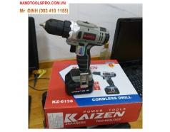 18V Máy khoan vặn vít dùng pin Kaizen KZ-613S