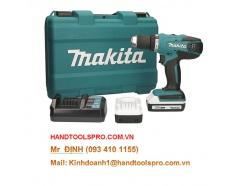 18V Máy khoan vặn vít dùng pin Makita DF457DWE