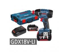 18V Máy vặn ỐC động lực dùng pin Bosch GDX 18V-LI