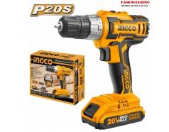 20V Máy khoan vặn vít dùng pin Ingco CDLI20024