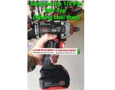 20V Máy siết buloong dùng pin 310N.m  không chổi than TOP SC4180