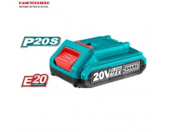 20V/2Ah Pin Lithium-Ion (dùng cho dòng E20 và P20S) Total TFBLI20011