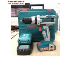 21V Máy khoan vặn vít dùng pin DEKTON DK-2115T