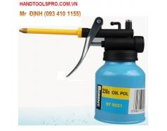 250g Bình bơm nhớt ống nhựa vàng BERENT BT9021