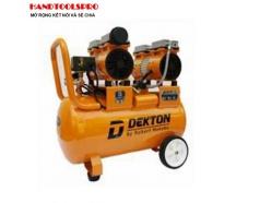 2HP Máy nén khí không dầu dung tích 50 lít  DEKTON DK-750