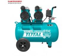 2x600W Máy nén khí không dầu 50 lít Total TCS2150502T