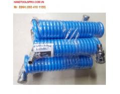 3m Cuộn dây hơi xoắn dẫn khí nén 5x8mm Hàn Quốc KOREEL DKO3X