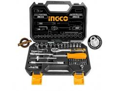4-14mm Bộ tuýp 1/4 45 chi tiết INGCO HKTS14451