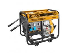 5.0KVA Máy phát điện động cơ dầu INGCO GDE50001