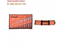 6-22mm Bộ vòng miệng 12 chi tiết Asaki AK-7502