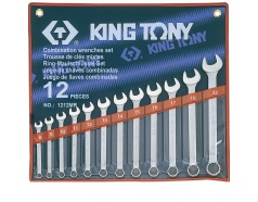 8-22mm Bộ vòng miệng 12 cái hệ mét Kingtony 1212MR
