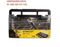 8-24mm Bộ cờ lê vòng miệng MODULE 16 chi tiết Stanley STMT74897-8C