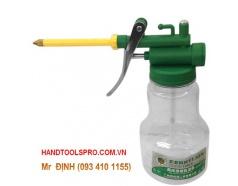 Bình Nhớt Nhựa Trong Berrylion 110502350 - Xanh (350g)