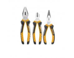 Bộ 3 kìm răng, cắt và nhọn INGCO HKPS08318