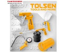 Bộ 5 công cụ dùng khí nén TOLSEN 73198