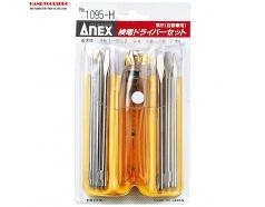 Bộ bút thử điện 6 mũi điện áp cao(H) No.1095-H Anex