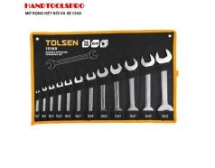 Bộ Chìa Khóa Miệng - Miệng Tolsen 15165 (12 Món) - Đen