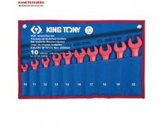 Bộ cờ lê cách điện 1000V 10-22mm 10 pcs Kingtony 12FVE10MRN