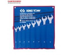 Bộ cờ lê vòng miệng 18-32mm 8 PCS Kingtony 1208MRN