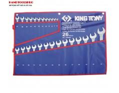 Bộ cờ lê vòng miệng 6-32mm  hệ mét 26 chi tiết Kingtony 1226MRN