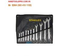 Bộ cờ lê vòng miệng 9 chi tiết Stanley STMT80941-8