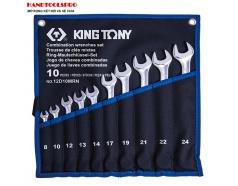 Bộ cờ lê vòng miệng siêu nhẹ 8-24mm Kingtony 12D10MRN