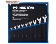 Bộ cờ lê vòng miệng siêu nhẹ 9 món KINGTONY 12D09MRN