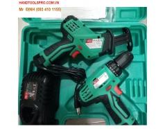 Bộ combo máy khoan và máy cưa kiếm dùng pin DCA ADKIT02