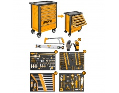 Bộ đồ nghề đa năng đựng trong tủ kéo 162 chi tiết INGCO HTCS271621