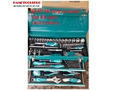 Bộ đồ nghề đựng trong hộp sắt 59 chi tiết Total THPTCS70971