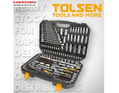 Bộ dụng cụ 216 chi tiết TOLSEN 15147