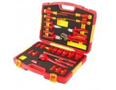 Bộ dụng cụ cách điện 1000V 25 chi tiết TOLSEN V83825