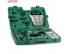 Bộ dụng cụ sửa chữa cơ khí chuyên nghiệp 58 chi tiết SATA 09516