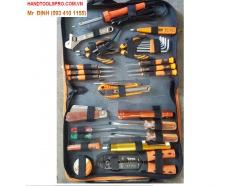 Bộ dụng cụ sửa chữa điện tử 30 chi tiết Asaki AK-9831