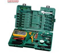 Bộ dụng cụ sửa điện 53 chi tiết Sata 09535