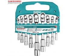 Bộ dụng cụ vặn ốc, bu lông chữ L 9 chi tiết Total TLASWT0901