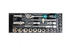 """Bộ khẩu 3/8"""" có 24 chi tiết Whirlpower 1613-SK03S"""