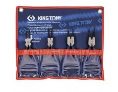 Bộ kìm mở phe 4 cái Kingtony 42114GP