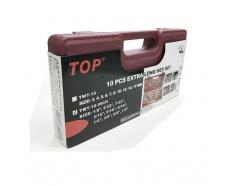 Bộ Lục Giác 10 Cây Hộp Đỏ (Inch) TOP TWT-10-INCH