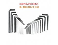 Bộ lục giác 25 chiếc hệ inch và hệ mét Genius HK-025MS
