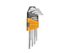 Bộ lục giác bi 9 chi tiết Ingco HHK12091