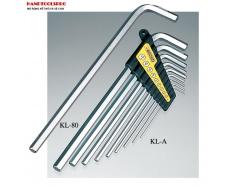 Bộ lục giác đầu  bằng 1.5-10mm loại dài KL-A Tsunoda NHẬT BẢN